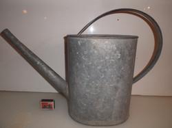Fém - Nagy - bádog - öntözőkanna - 54 x 30 x 18 cm - 10 literes