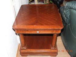 USA DREXEL mahagóni (dohányzó) asztal, tükör