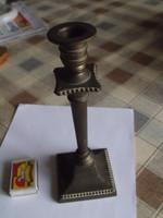 Antik Nagyon Szép Réz / Sárgaréz Gyertyatartó - 21,5cm