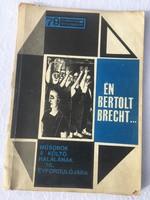 Én bertolt brecht színjátszók kiskönyvtára - 1966 - Műsorok a költő halálának 10. évfordulójára