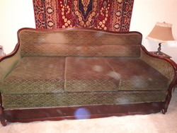 Barokk kanapé franciaágy