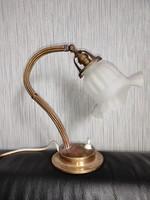 Antik szecessziós asztali lámpa