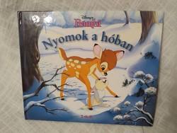 Bambi-Nyomok a hóban, Disney könyv