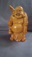 Faragott Buddha szobor