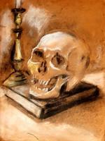 Szobotka Imre(1890-1961) -  Memento mori festmény
