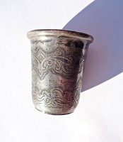 1856-os Moszkvai 875-ös finomságú vodkás pohár