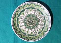 Görög kézműves kerámia tányér