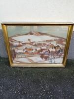 Tél Nagy Ernő Sándor Festmény