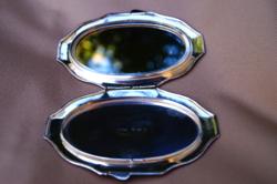 Ezüst pipere tükör Angol 925 ös ezüstből