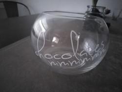 Bon-bon - ös üveg tároló.