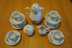 Hollóházi Erika készlet, tea 15 részes