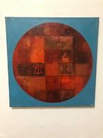 Lisziák Elek (Lexy) (1939-2007) Olaj-vászon Szerepelt  Műcsarnok kiállítás 31.tétel 2017.12.06-2018