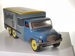Pilsner Urquell, régi lemezjáték, teherautó, hűtőkocsi. Tatra 138