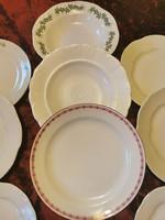Zsolnay tányérok 10 db