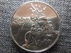 Munkácsy Mihály .640 ezüst 200 Forint 1976 BP BU (id44926)