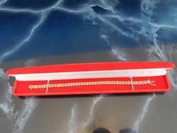 Arany  14k Tenisz  karkötő 45db pici Gyémánttal     11.1 gr