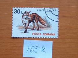 ROMÁNIA 30 L 1993 Állatok Vörös róka  165K