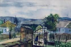 Szalóky Sándor (1921-1978):  Utcán