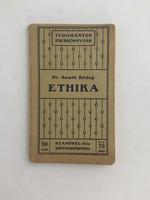Dr. Somló Bódog: Ethika - Stampfel-féleTudományos Zsebkönyvtár 59. szám, második kiadás