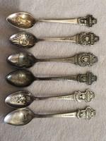 Régi eredeti rolex  ezüstözött kiskanalak eladóak