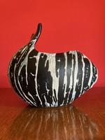 Luria Vilma iparművészeti jelzett kerámia váza