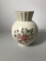 Zsolnay porcelán váza ritka öblös szép állapotú  12 cm magas
