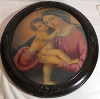 Ismeretlen festőművész – Madonna a gyermek Jézussal című festménye – 56.