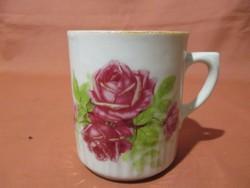 Zsolnay rózsás bögre, csésze