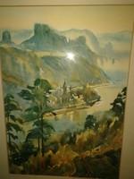 Jeges Ernő csodálatos festménye - eredeti alkotás, garanciával.
