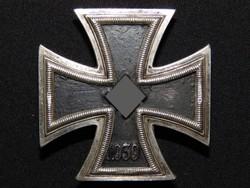 Német 2. VH Vaskereszt Iron Cross / Eisernes Kreuz EK1 -  Deschler & Sohn
