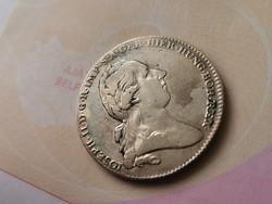 1784 II.József koronatallér Ritka 29,4 gramm 0,873