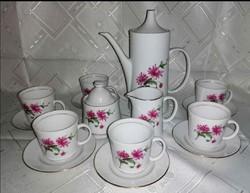 6 személyes Alföldi porcelán kávés készlet