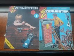 2 db Ezermester újság 1974.