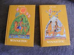 1980 -as Winnetou Karl May 1-2 kötet egyben