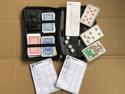 Kocka és Francia Kártya Játék Csomag - Póker Kockapóker Jatzy Pakli