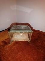 Antik ékszertartó doboz