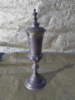 Antik Magyar ezüst kehely, kupa. 1867.utáni.