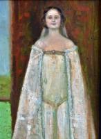 ANTIK FESTMÉNY, olaj karton, 41 x 30,5 cm