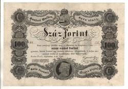 100 Száz forint 1848 Kossuth bankó 2.