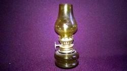 Barna , mini petróleumlámpa 14 - polcdísz