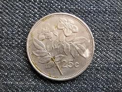 Málta 25 cent 1986 (id18358)