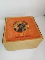 Dia mesefilm vetítő eredeti dobozában, újszerű, Lemezárugyár diavetítő