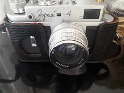 Zorkij 4 fényképezőgép