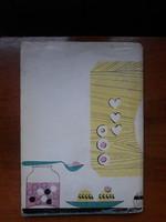 60-s évekbeli, retro  sütemenyes könyv / Cukrászati könyv / Retro cukrászati dekor