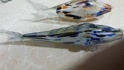 Üveghalak 2 db
