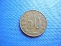 CSEHSZLOVÁKIA 50 HALÉR /HALEROV 1963