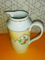 Antik rózsás tejkiöntő Meisseni