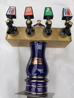 Eredeti régi Pepsi-Cola szóda, sör csap torony