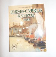 2004 ~ CYPRUS ~ EURO COLLECTION ~ 8 PATTERN AND PROTOTYPE
