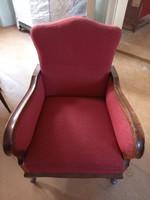 Neobarokk ülőgarnitúra,1 kanapé,2db fotel,2szék.